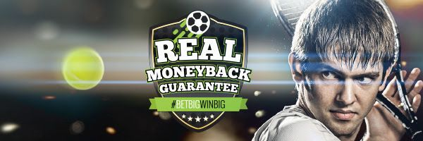 Sportsbet money back guarantee French open