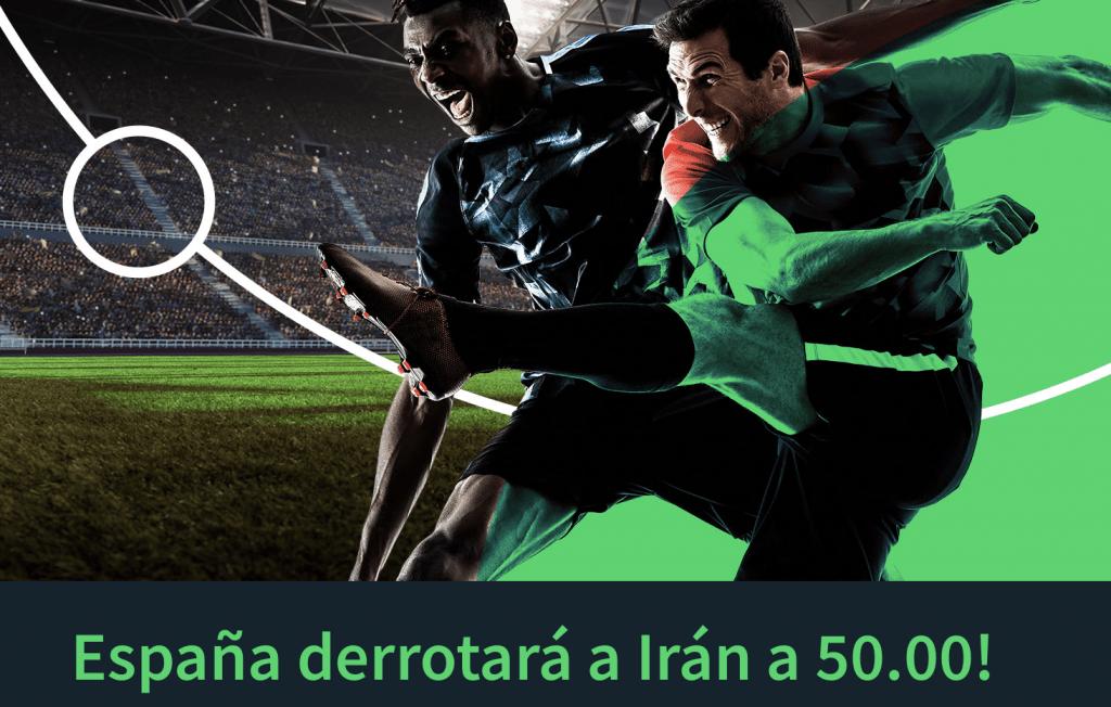 , Supercuota bitcoin Sportsbet , España gana a Irán a cuota 50