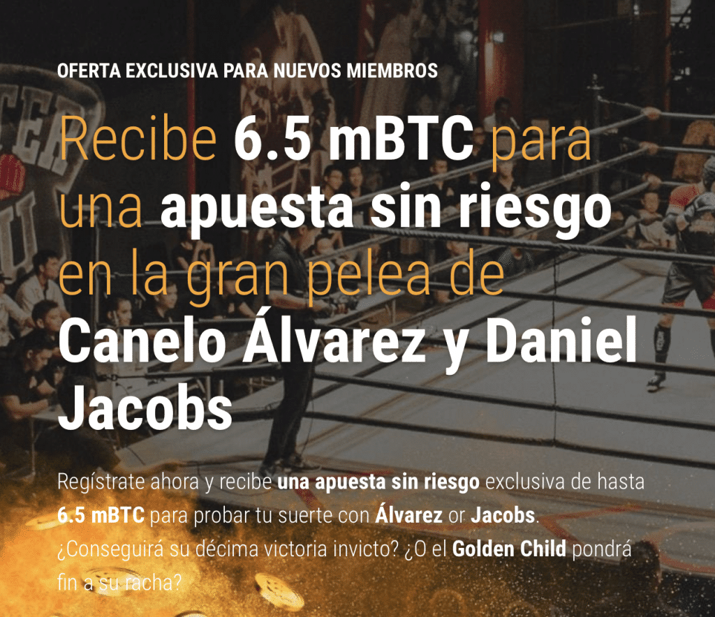 apuestas bitcoin gratis con Cloudbet.
